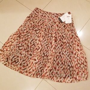 New! Poly Chiffon Lined Full Printed Skirt